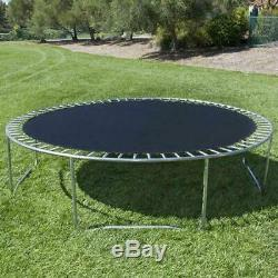 12' Trampoline Combo Bounce Jump Safety Enclosure Net WithLadder Rain Cover Toy