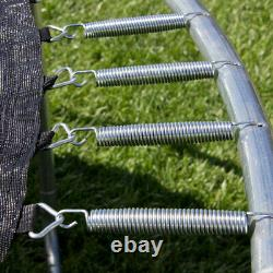 14' Trampoline Combo Bounce Jump Safety Enclosure Net WithLadder Rain Cover Sports