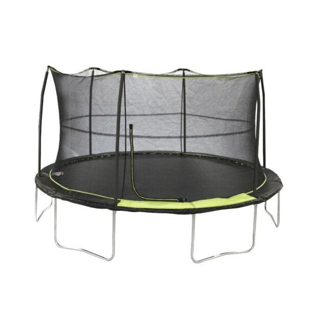 14' Trampoline With Full Safety Enclosure Net For Kids- Backyard Ships Today Free