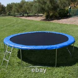 14FT Round Trampoline Combo Safety Enclosure Bounce Jump Net withSpring Pad&Ladder