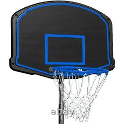 16FT Trampoline with Safety Enclosure Net, Ladder and and Basketball Blue USA