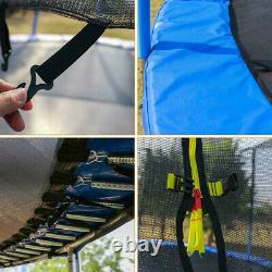 6FT Kids Trampoline And Spring Cover Padding With Enclosure Net Jumping Mat