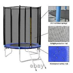 6FT Trampoline with Safety Enclosure Net & Spring Pad & Ladder Kids Outdoor Sport