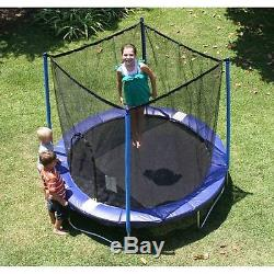 8' Trampoline with Safety Enclosure Kids Toddler Bounce My First Tampoline Jump
