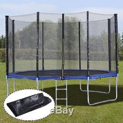 BCP 12' Round Trampoline Set With Safety Enclosure, Padding & Ladder US SHIP