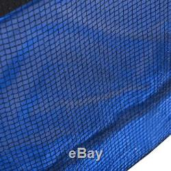 Bounce Jump Safety Trampoline with Spring Pad Ladder Enclosure Net Combo Outdoor