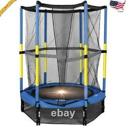 Bounce Pro 55-Inch My First Trampoline with Safety Enclosure Blue Ages 3 to 8