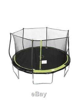 BouncePro 14-Foot trampoline with Enclosure new King 14ft Net Kids Jumping Slide