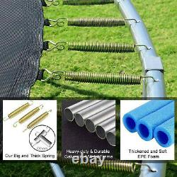Enclosure Net Jumping Mat And Spring Cover Padding 12 FT Kids Trampoline