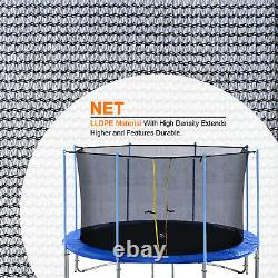 ExacMe Enclosure Net without Poles for 10/12/14/15/16FT C-series Trampoline 6181