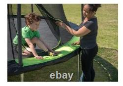 Jumpking 14 Foot Round Trampoline With Enclosure System. Free shipping