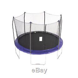 NEW Backyard Trampolines 12-Foot Trampoline, with Safety Enclosure, Blue