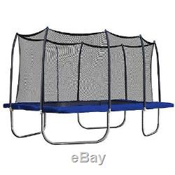 New Skywalker 15 Rectangle Trampoline with Enclosure
