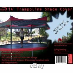 OUT OF STOCK 14 Trampoline Shade Cover Weather Safety Enclosure Protection