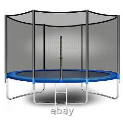 Polar Aurora 10Ft Outdoor Trampoline for Kids Adults with Safety Enclosure Net