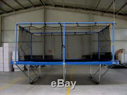 Rectangular 10x17 Feet Proxamponite Rectangle Trampoline with Safety Net Enclosure
