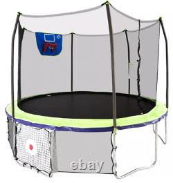 Skywalker 12 Round Sports Arena Trampoline with Enclosure Dual Color