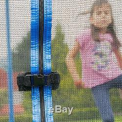 Skywalker Trampoline 15' Square With Steel Flex Safety Enclosure UV-Treated Mat