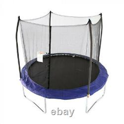 Skywalker Trampolines 10 Foot Round Trampoline with Safety Enclosure (Open Box)