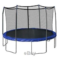 Skywalker Trampolines 15-Foot Round Trampoline and Enclosure with Spring Pad