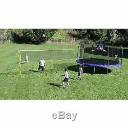 Skywalker Trampolines 15ft Round Sports Arena Trampoline and Enclosure Green