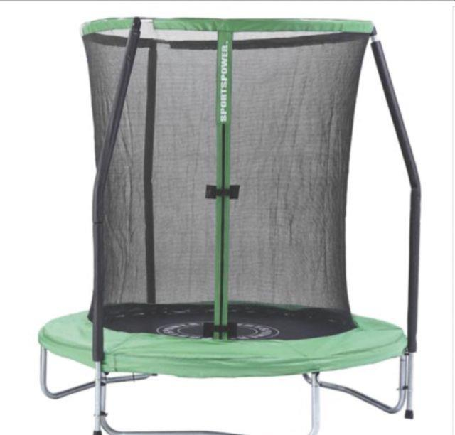 Sportspower 6ft Easi-store Trampoline & Enclosure With Flip-pad New