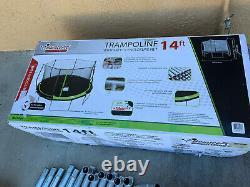 Sportspower Bouncepro 14ft Trampoline With Enclosure Excellent Condition