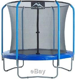 Trampoline with Top Ring Enclosure System Outdoor Sports Games Equipment Playset