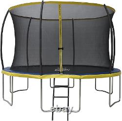 ZERO GRAVITY 6ft / Ultima 4 High Spec Trampoline with Safety Enclosure Netting